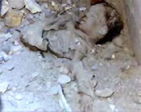 killed Iraqi baby